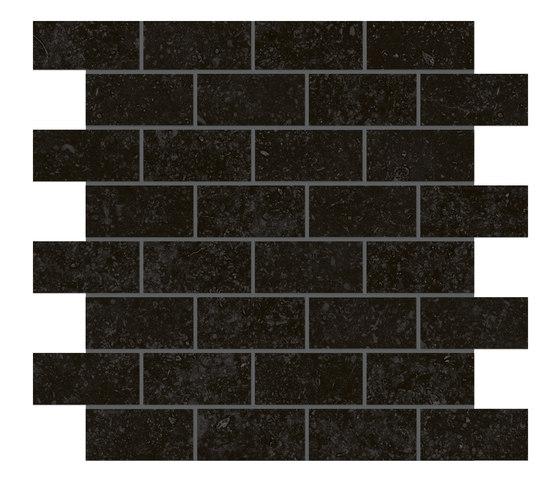 Blue mountain | Mosaico mattone crystal black by Lea Ceramiche | Tiles