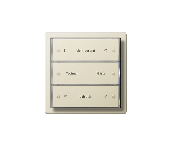 F100 | Blind controller with touch sensor by Gira | Lighting controls
