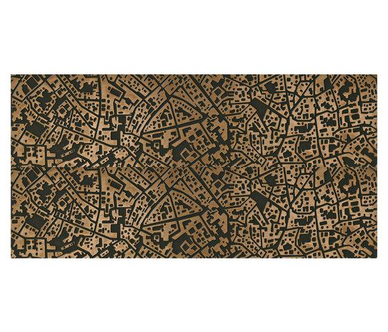 City | Cordusio bronze 3D by Lea Ceramiche | Ceramic tiles