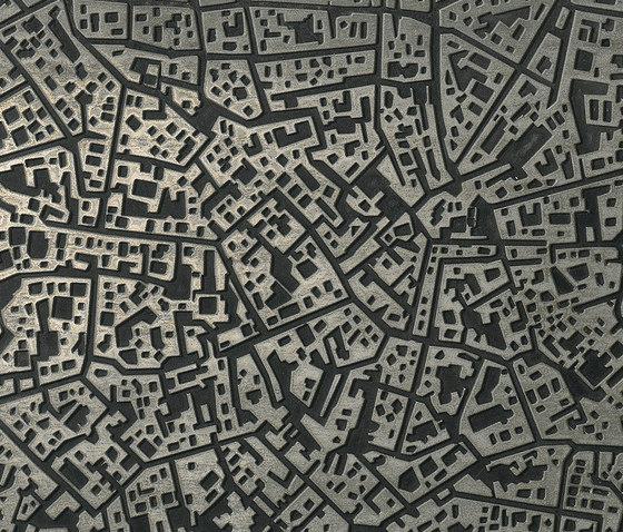 City | Moscova antracite 3D by Lea Ceramiche | Ceramic tiles