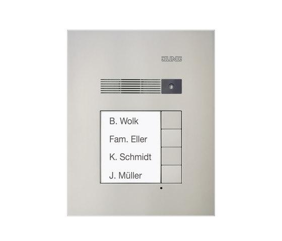 Door entry phone TKM outdoor audio by JUNG | Intercoms (exterior)