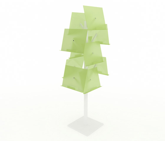 Newspaper Tree by IDM Coupechoux | Display stands