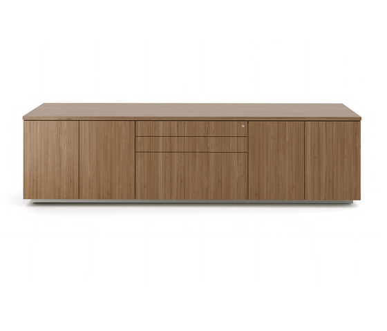 Brand credenza wood top by M2L | Cabinets