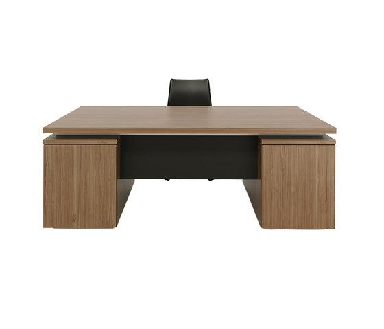 Brand desk double pedestal di M2L | Scrivanie individuali