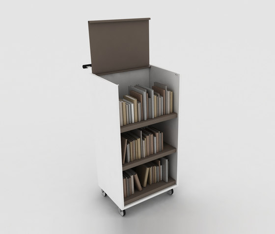 BK Trolley de IDM Coupechoux | Carritos para libros