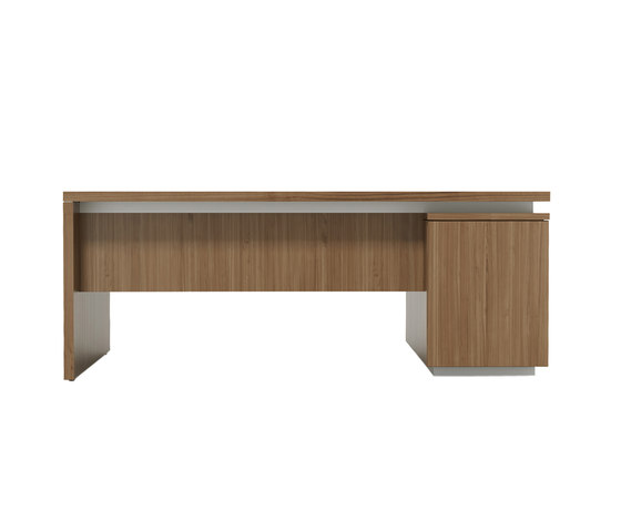 Brand desk modesty wood by M2L | Individual desks