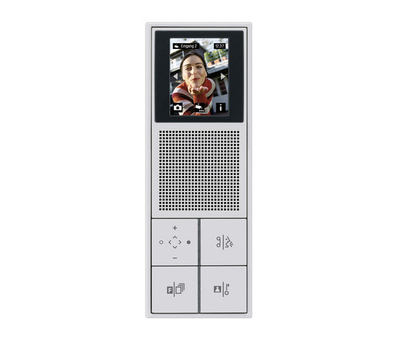 Door entry phone TKM indoor LS 990 video by JUNG | Intercoms (interior)
