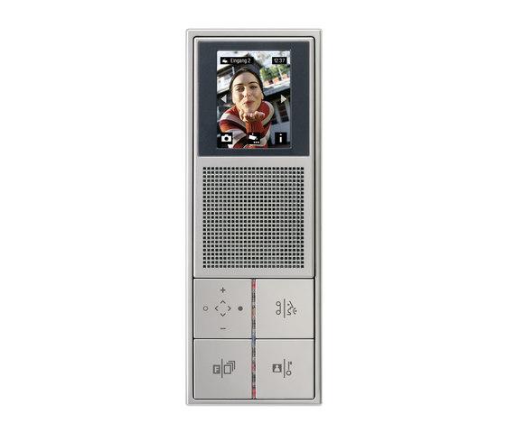 Door entry phone TKM indoor LS 990 video di JUNG | Citofoni da interno