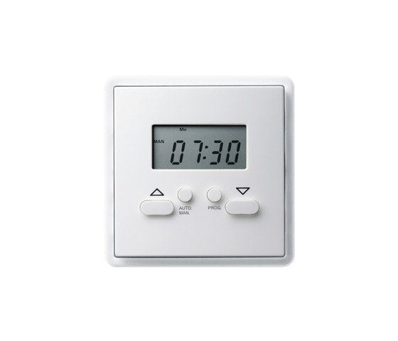 S-Color | Digital clock by Gira | Timers