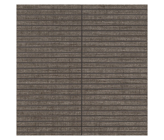 Makò | Decoro corset cedar bruno by Lea Ceramiche | Floor tiles