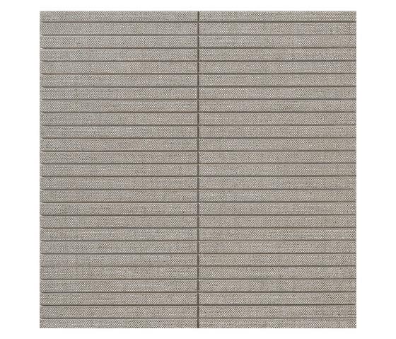 Makò | Decoro corset yucca grigio by Lea Ceramiche | Floor tiles