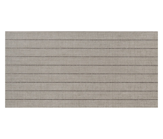 Makò | Decoro pin striped yucca grigio by Lea Ceramiche | Floor tiles