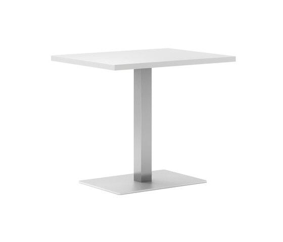 Cafe R Inox Table by ONDARRETA | Cafeteria tables