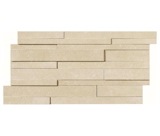 Masterplan | Decoro muretto 3D avorio by Lea Ceramiche | Tiles