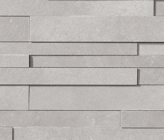 Masterplan | Decoro muretto 3D grigio by Lea Ceramiche | Tiles