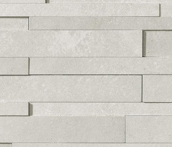 Masterplan | Decoro muretto 3D grigio chiaro by Lea Ceramiche | Tiles