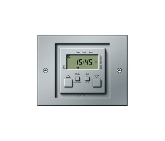 TX_44 | Electronic time clock by Gira | Shuter / Blind controls