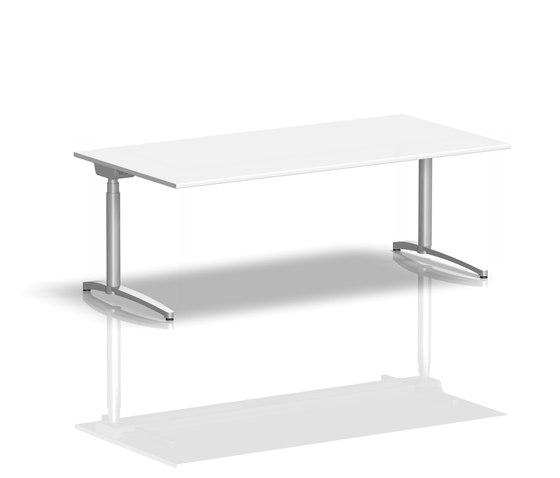Canvaro Schreibtisch von Assmann Büromöbel | Einzeltische