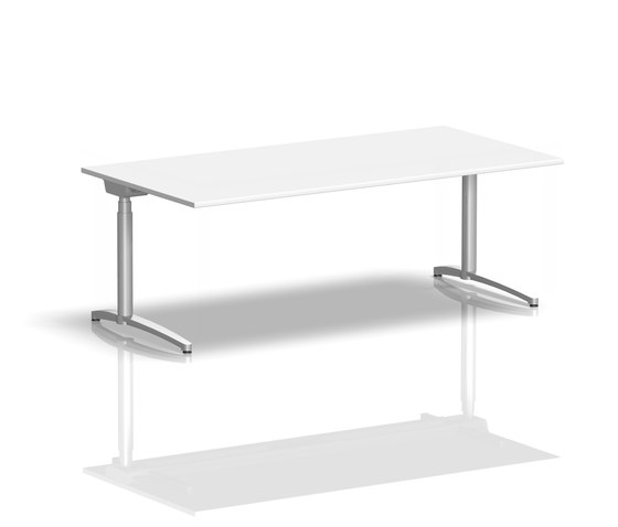 Canvaro Desk by Assmann Büromöbel | Individual desks