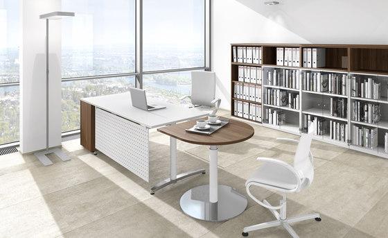 Canvaro desking programme de Assmann Büromöbel | Tables collectivités
