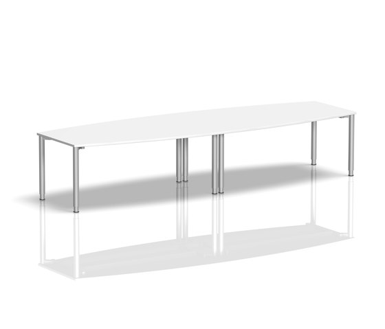 Rondana Meeting by Assmann Büromöbel | Desking systems