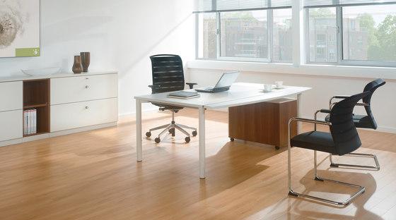 Rondana Desk range by Assmann Büromöbel | Individual desks