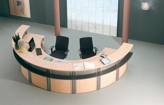 VisitASS Reception by Assmann Büromöbel | Reception desks