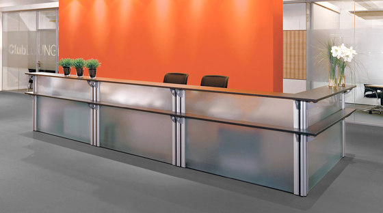 VisitASS Reception by Assmann Büromöbel | Reception desks