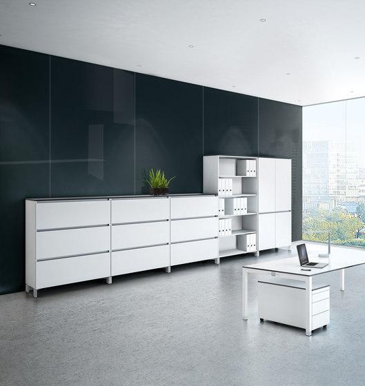 Intavis Storage system de Assmann Büromöbel | Archivadores