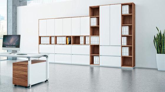 Intavis storage system de Assmann Büromöbel | Meubles de rangement