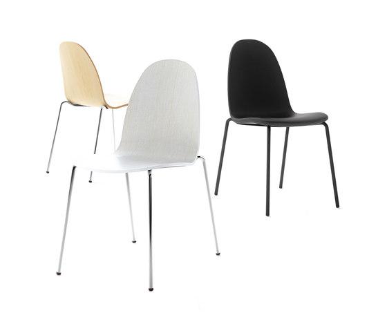 Bob Steel Chair by ONDARRETA | Multipurpose chairs
