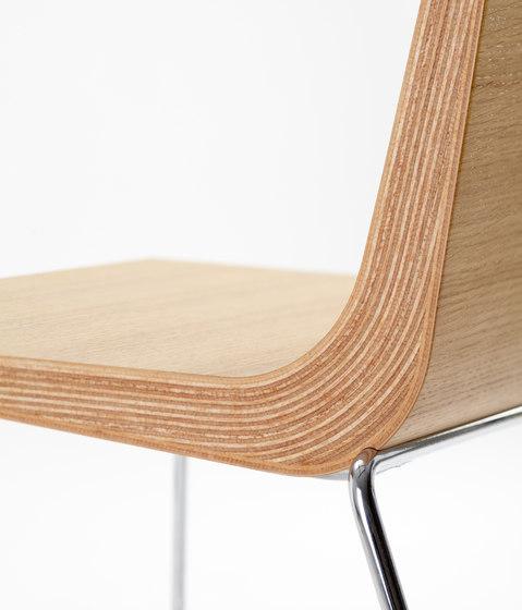 Boomerang Chaise de ONDARRETA | Chaises polyvalentes