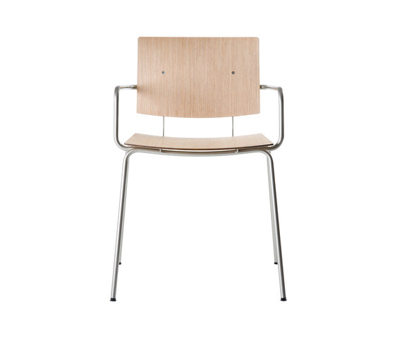 Don Chair with armrests by ONDARRETA | Multipurpose chairs