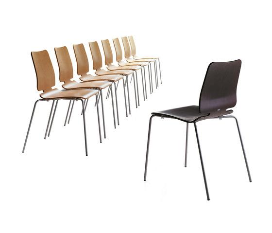 Noa Chair by ONDARRETA | Multipurpose chairs