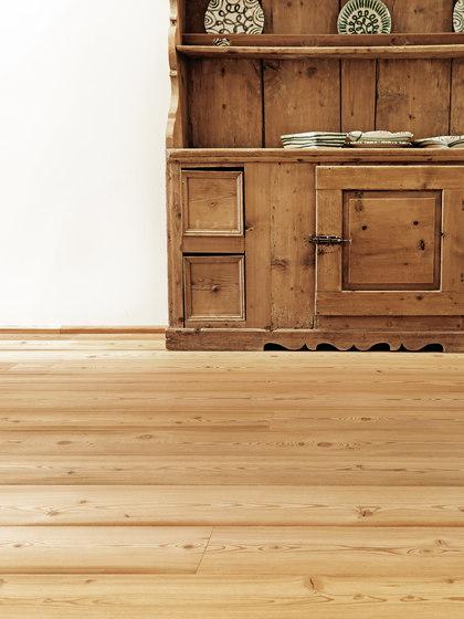LÄRCHE Breitdiele gebürstet | weiß geölt von mafi | Holzböden