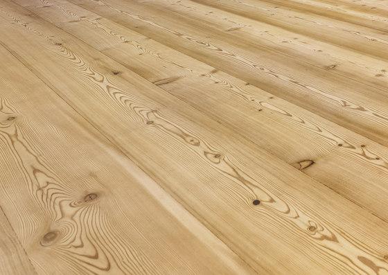 LARCH wide-plank brushed | white oil de mafi | Suelos de madera