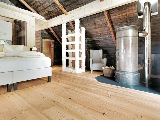 LARCH Country wide-plank brushed | natural oil by mafi | Wood flooring
