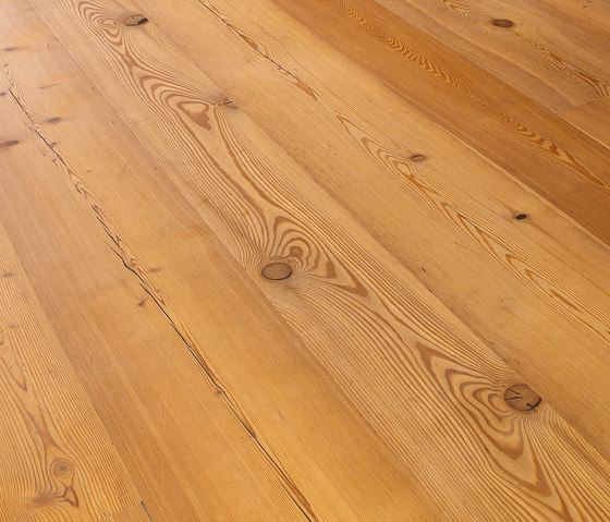 LARCH Country Vulcano wide-plank brushed | natural oil by mafi | Wood flooring