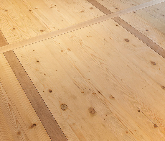 FIR Vulcano wide-plank brushed | natural oil de mafi | Sols en bois