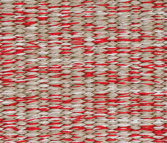 Neo Flat #3 shadows of red by kymo | Rugs / Designer rugs