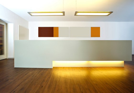 Straight reception combinations by acousticpearls | Wall panels