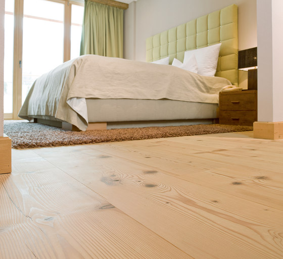FIR wide-plank brushed | white oil by mafi | Wood flooring