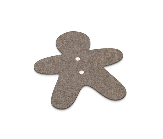 Placemat Gingerbread man by HEY-SIGN | Coasters / Trivets