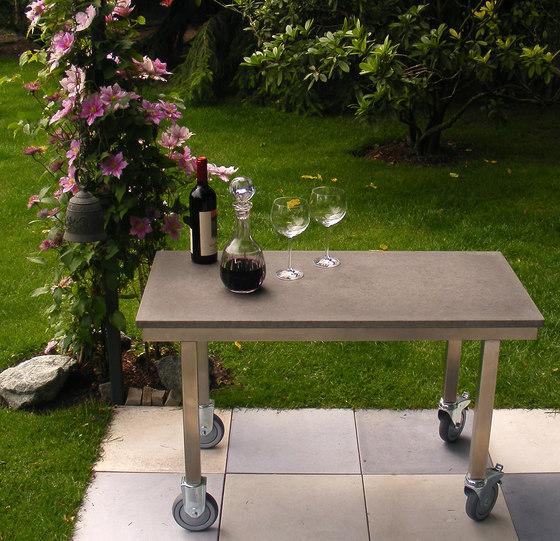 Couchtische tische catala couchtisch aus beton oggi beton - Designer betonmoebel innen aussen ...