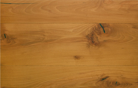 mafi BEECH Rosso Vulcano wide-plank. brushed | white oil by mafi | Wood flooring