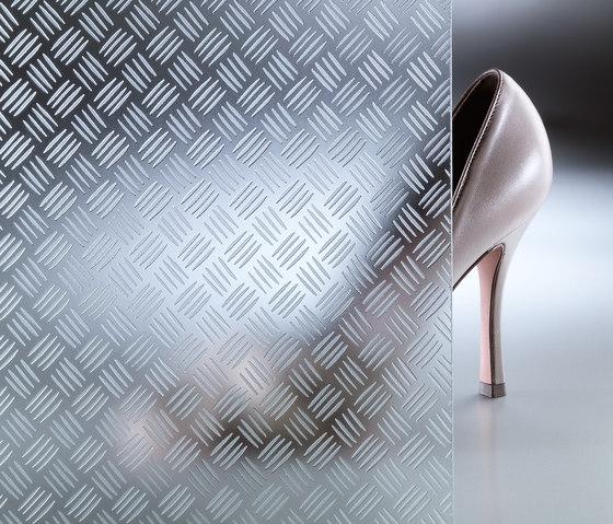 CriSamar® STEP Aluminium-S von Sevasa | Dekoratives Glas
