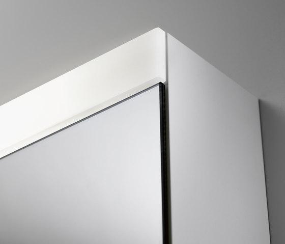 Spiegelschrank even4 LED-Beleuchtung von talsee | Spiegelschränke