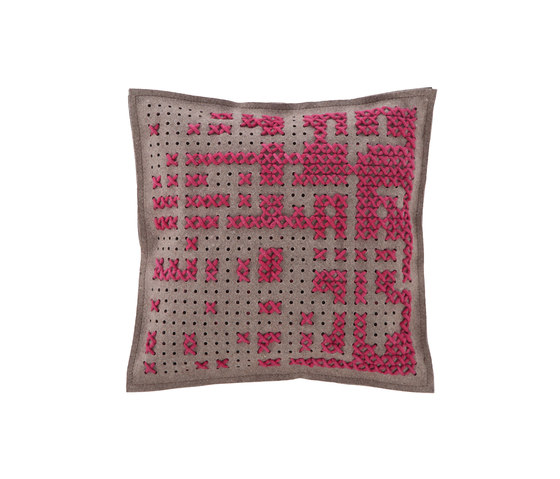 Canevas Cushion Abstract Pink 9 von GAN | Kissen