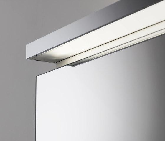 Spiegelschrank pure mit Aufbauleuchte by talsee | Mirror cabinets