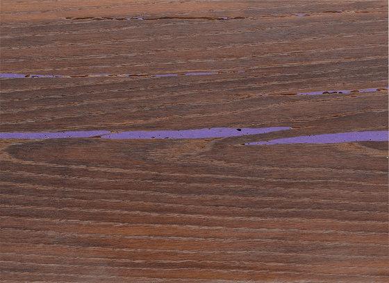 mafi Tiger EICHE violett. gebürstet | weiß geölt von mafi | Holzböden